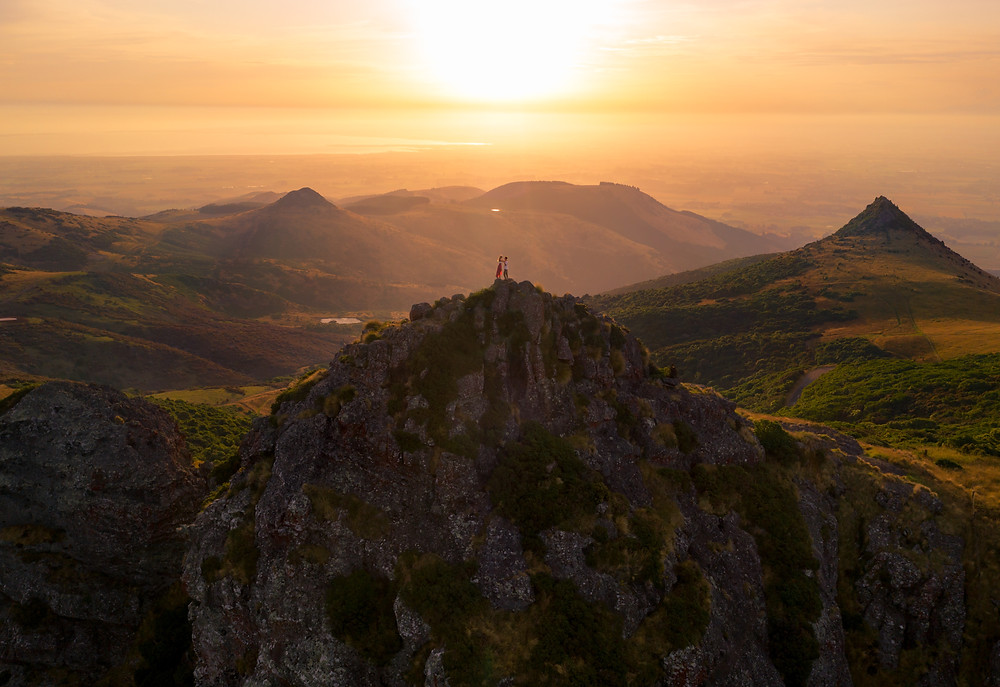 Christchurch Coopers Knob Sunset