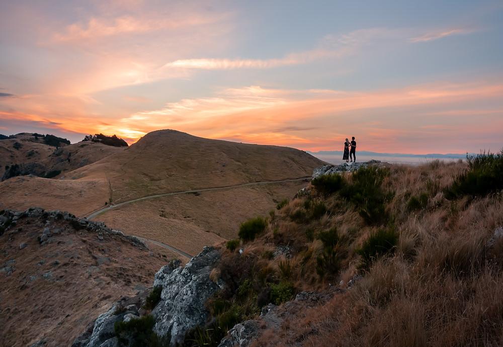 Christchurch Witch Hill Sunset