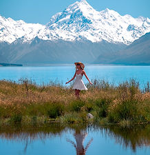Mount Cook Secret Tarn Travel Guide the CJ Way Photography