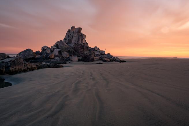 Shag Rock Sunrise 2
