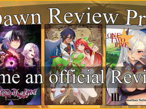 Receive FREE Review Copies with our New Dawn Program!