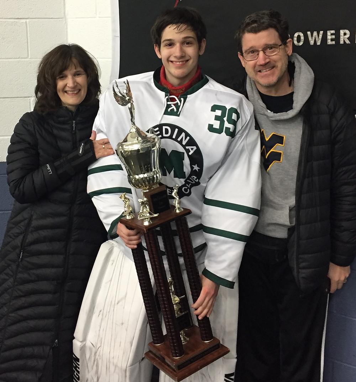 Ferf Scott wins NCHSHL