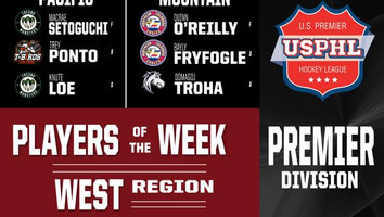 Houston and Toth Earn Player of the Week Honors