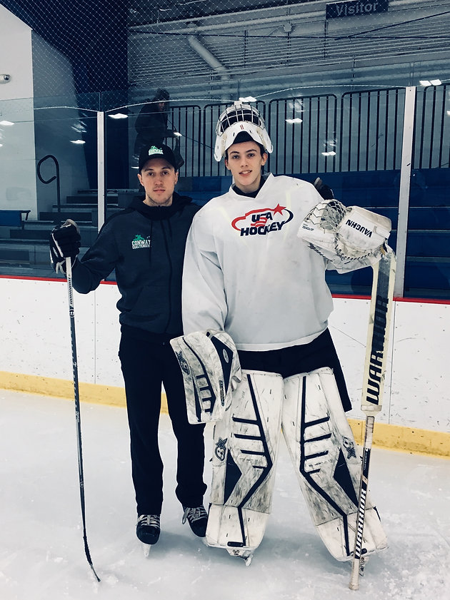 Colin Purcell Makes Usa S Ntdp 40 Man Camp Conway Goaltending