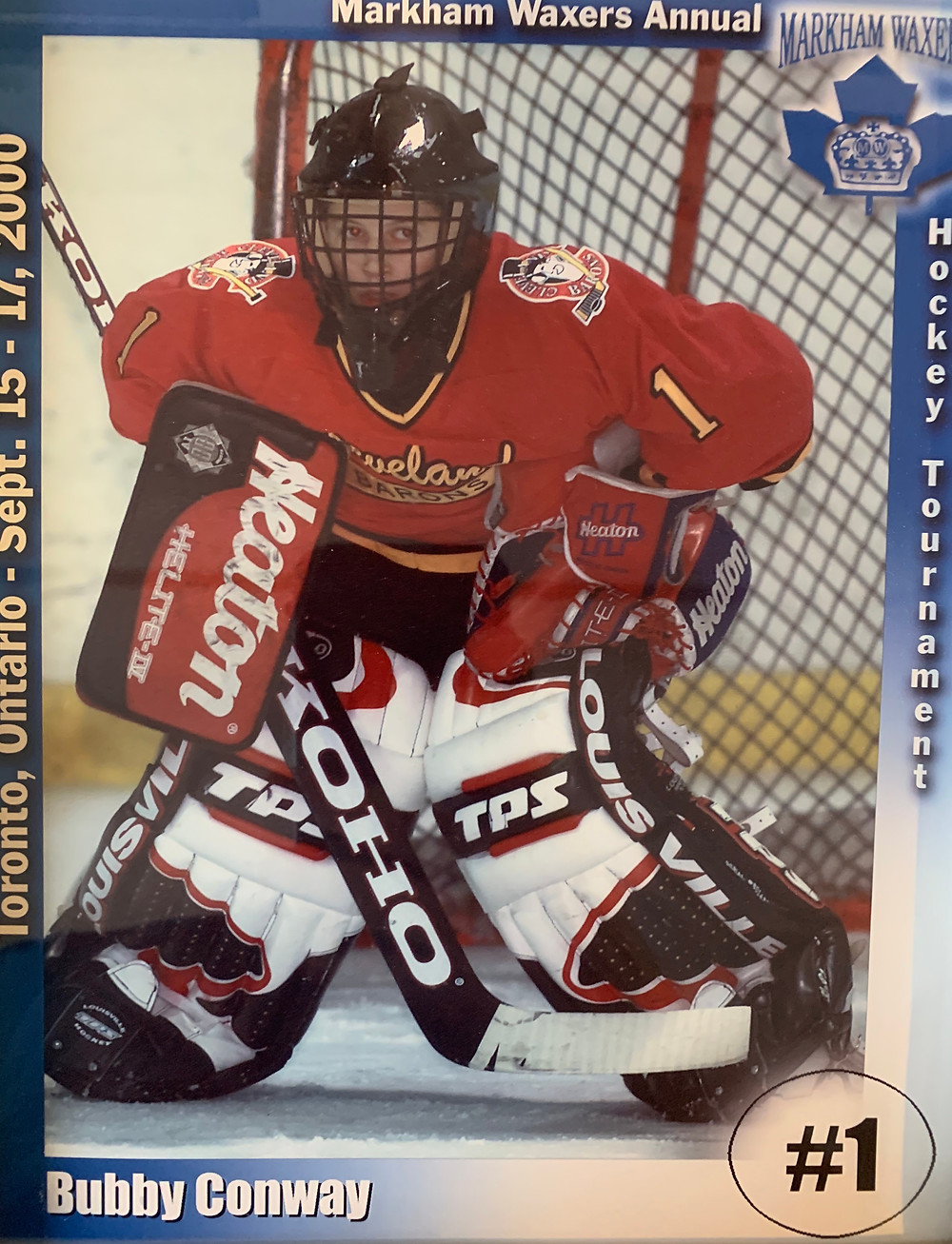 '88 Peewee Cleveland Barons in 2000