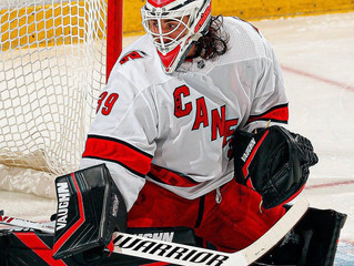 Alex Nedeljkovic Leading the NHL