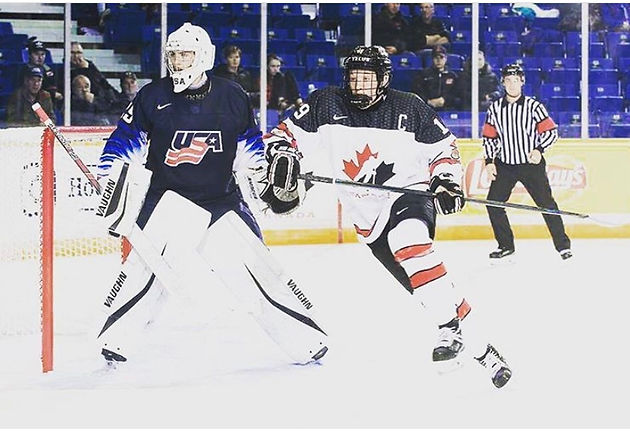 Purcell To Play For Usa At World U17 Conway Goaltending School