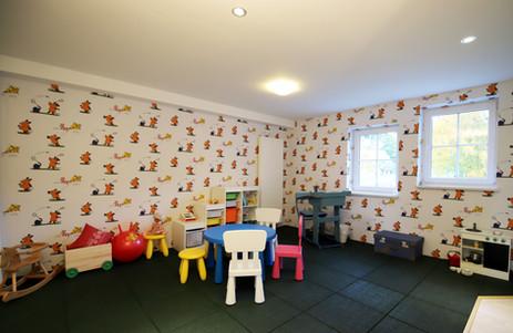 Eigener Spielbereich für Kinder