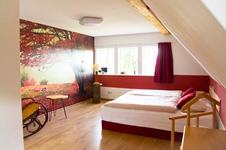 Individuell eingerichtete Zimmer