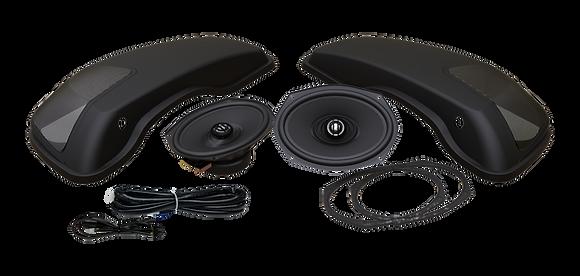 692 XL Lid-RM Saddlebag Lids With 6x9's