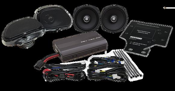 REV 450 RGU KIT-AA Amp Speaker Kit For Road Glide Ultras