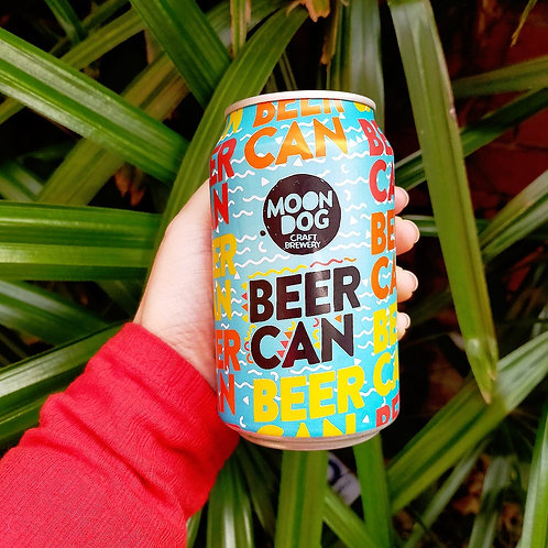 """Moondog """"Beer Can"""" Lager 10 Pack"""