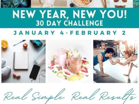 New Year New You Challenge - Contact us for details
