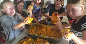 Recipe for a Halloween Harvest Lunch