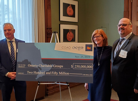 $250 Million Raised Celebrated at Queen's Park