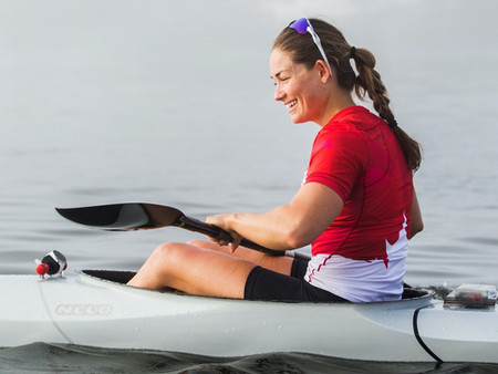 Helping a hometown paddler earn a spot on the Olympic team