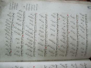 قاموس للغتين الفارسي والعربي في مكتبة سا