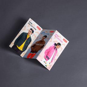 Дизайн рекламной брошюры магазина