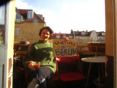 Greetings from Pearl in Berlin