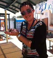 NY Onward Israel Service Learning: Being Present