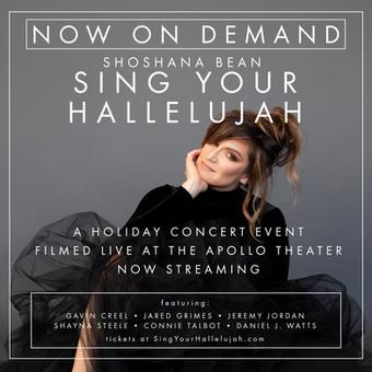 SING YOUR HALLELUJAH