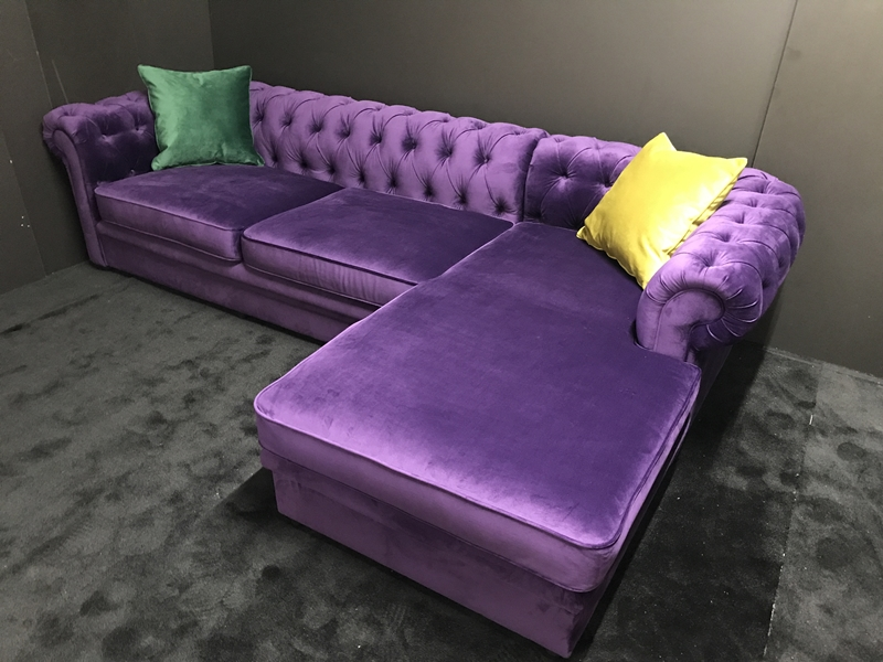 Coltar Chesterfield Electric purple
