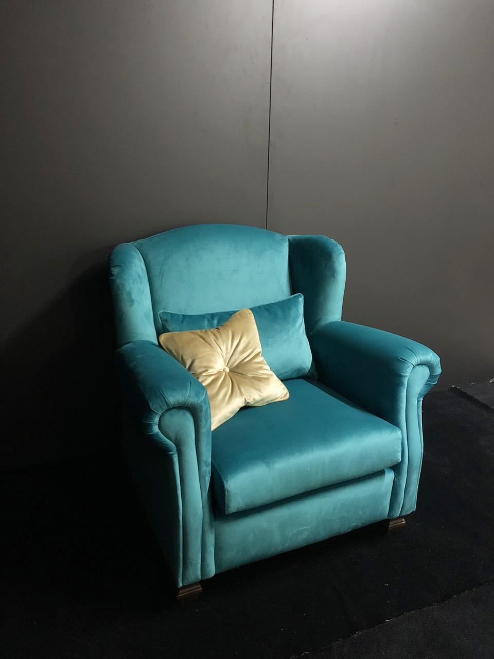 Fotoliu Melody turquoise