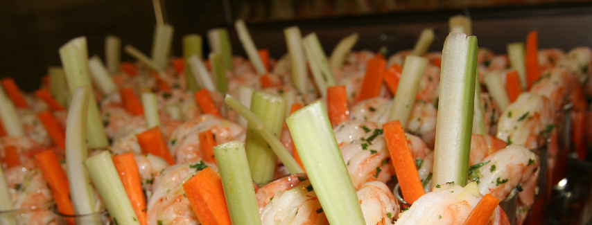 seafood table