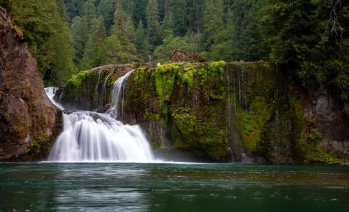 Upper Lewis Falls - Washington