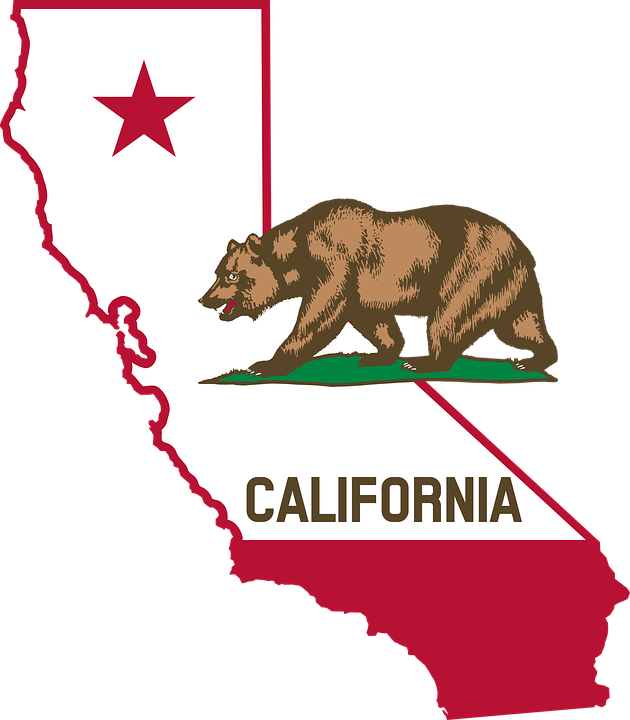 Illustration from California State Flag
