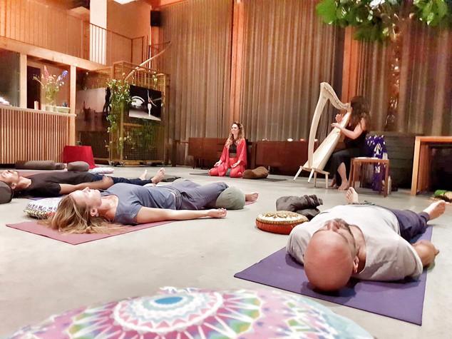 Yin Yoga & Harp