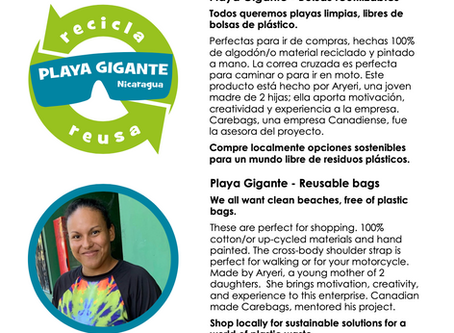 Update - Carebags project in Nicaragua - It's taking off!