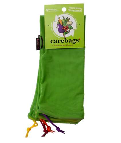 4 Carebags™ 4 Pack Reuseable Bags