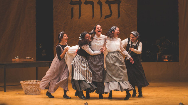 """""""FIDDLER ON THE ROOF"""" IN YIDDISH - HIGHLIGHTS"""