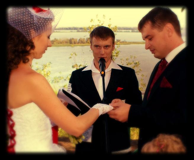 Выездная церемония с шикарным видом