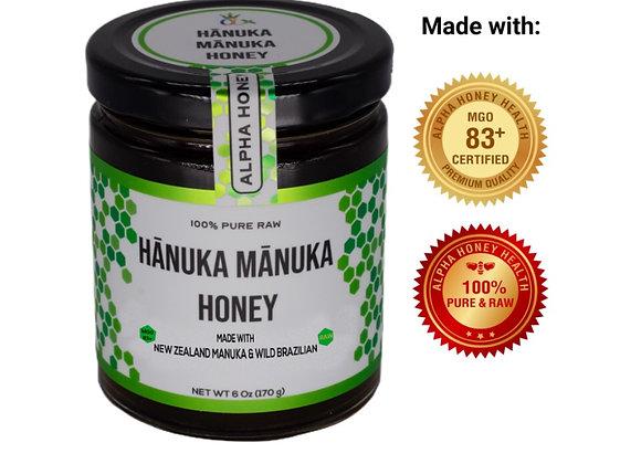 Limited Time: Raw Manuka & Rainforest Honey Blend