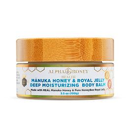 Manuka Honey & Royal Jelly Deep Moisturizing Body & Face Balm
