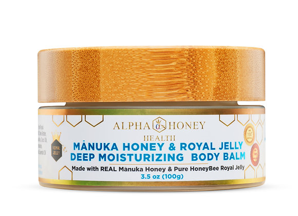 Manuka Honey & Royal Jelly Deep Moisturizing Body & Face Balm