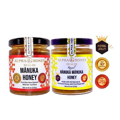 Super Pack: 100% Manuka & Royal Hanuka Manuka