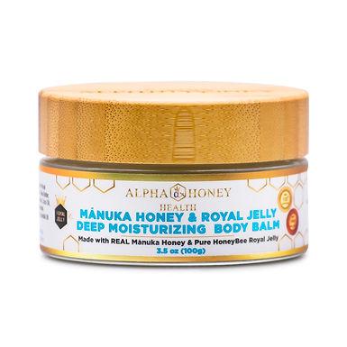 Royal Jelly & Manuka Honey Deep Moisturizing Body Balm