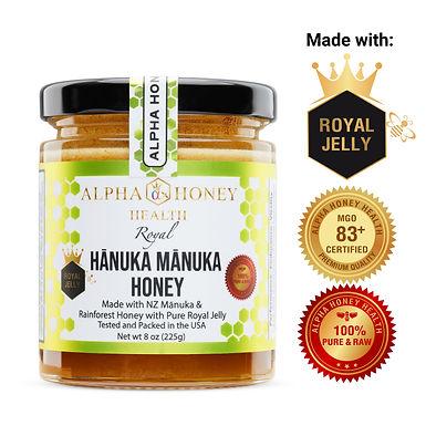 Royal Jelly with  Manuka & Organic  Honey Immune Booster