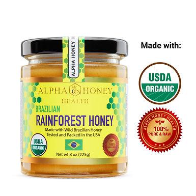 USDA Organic Rainforest Honey from Brazil