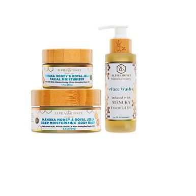 Royal Jelly & Manuka Honey Complete Skin Care Set