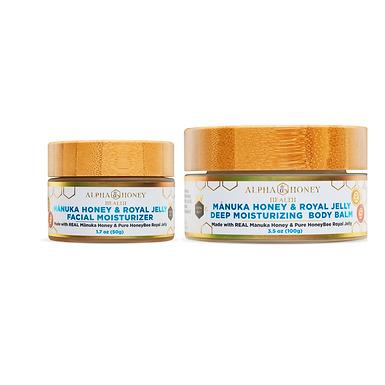 Manuka Honey & Royal Jelly Face Cream & Body Balm
