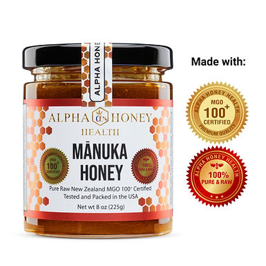 100% Manuka Honey MGO 100+ USA Certified