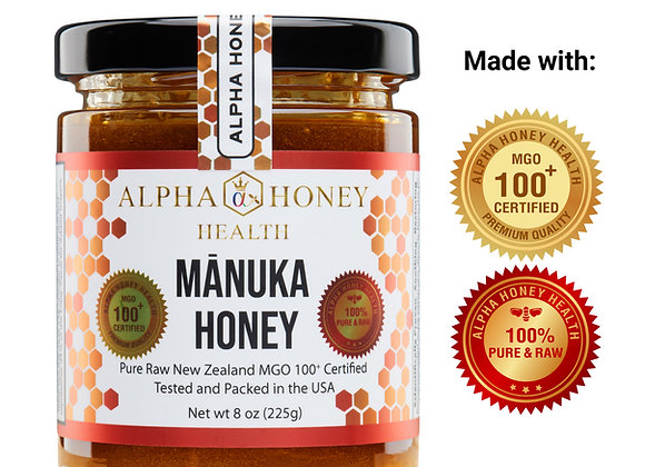 100% Manuka Honey MGO 100+ USA Certified
