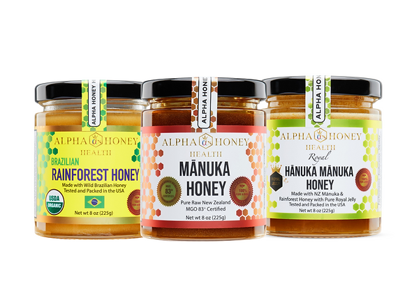 Alpha Honey Health Honey Set