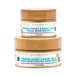 Manuka Honey & Royal Jelly Face Cream & Body Balm
