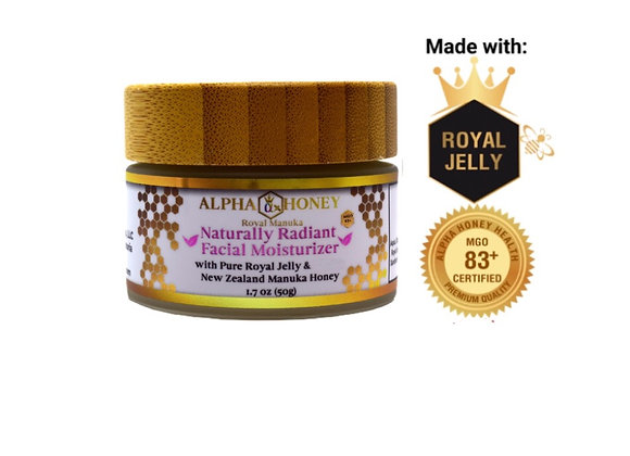 Royal Jelly and Manuka Honey Lightweight Face Moisturizer
