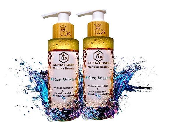 2 Bottle Mix & Match Fragrance: Manuka Oil Antibacterial Face Wash